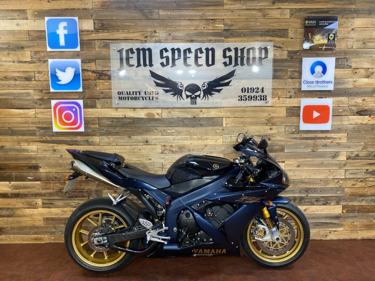 Yamaha YZF-R1 1.0 YZF R1 2006 SP Super Sports Petrol Black