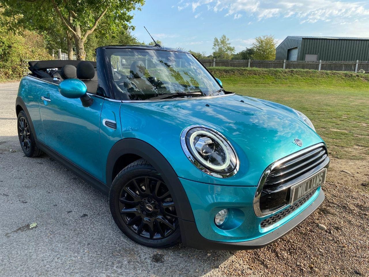Mini Convertible 1.5 Cooper Classic II 2dr (16in Victory Alloys! 1 Owner! +) Convertible Petrol Electric Blue Metallic