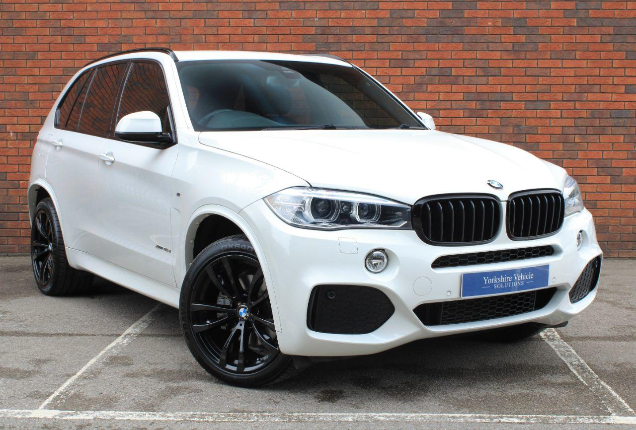 BMW X5 3.0 xDrive40d M Sport 5dr Auto Estate Diesel White