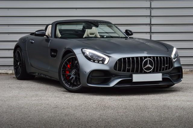 Mercedes-Benz AMG GT 4.0 AMG GT C 2DR AUTOMATIC Convertible Petrol Grey