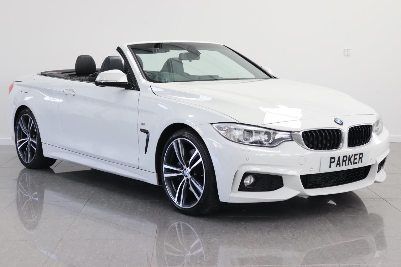 BMW 4 Series 2.0 420d [190] M Sport 2dr [Professional Media] Convertible Diesel Alpine White