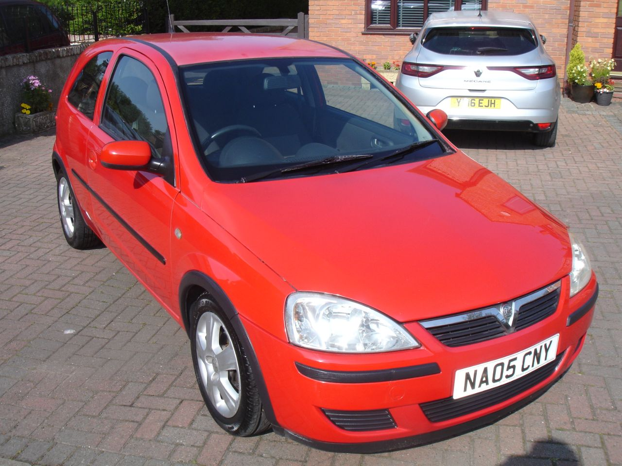 Vauxhall Corsa 1.0i 12V Energy 3dr Hatchback Petrol Bright Red at Level Pitch Selby