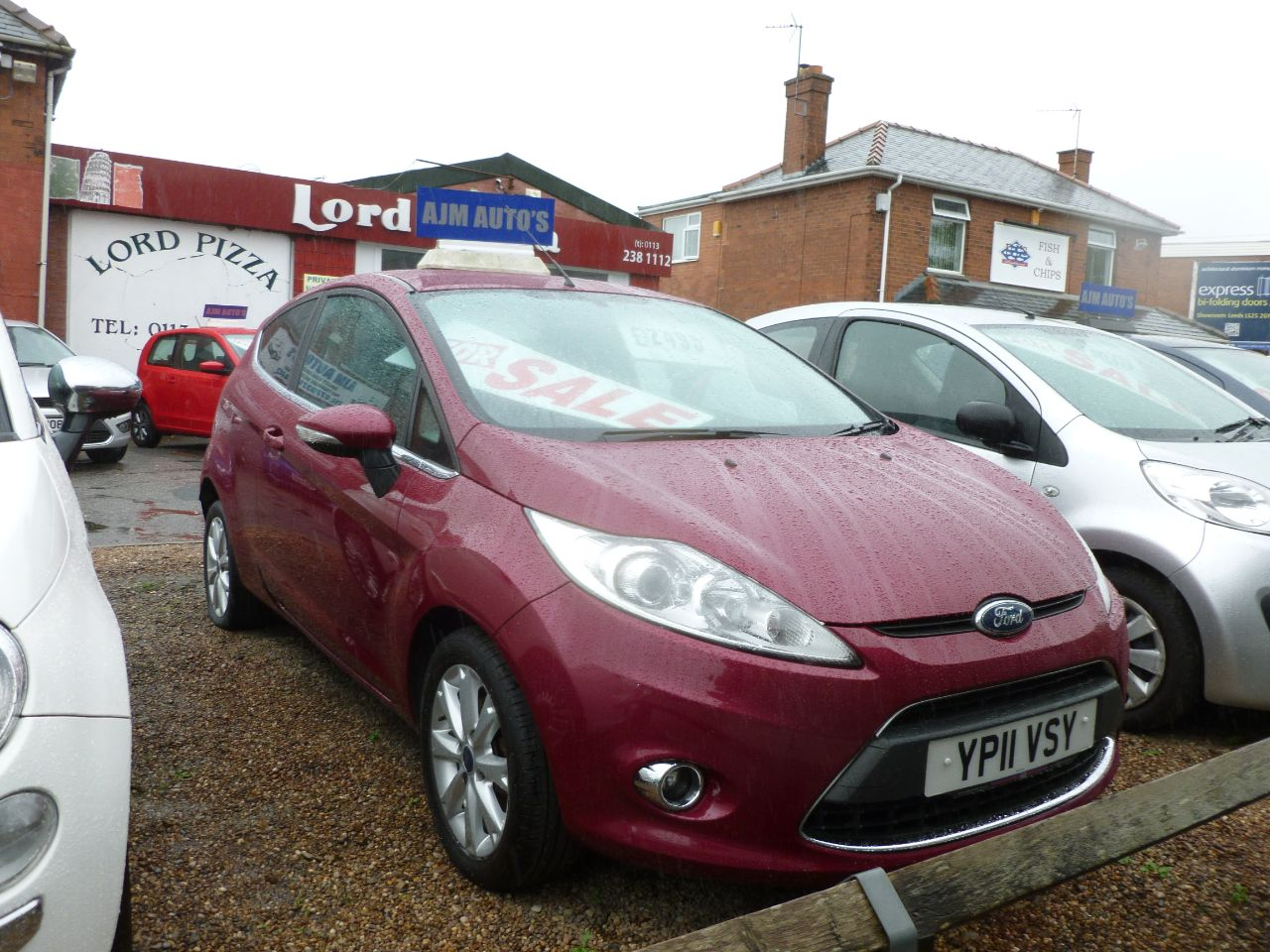 Ford Fiesta 1.25 Zetec 3dr [82] Hatchback Petrol Red at AJM Autos Leeds Leeds