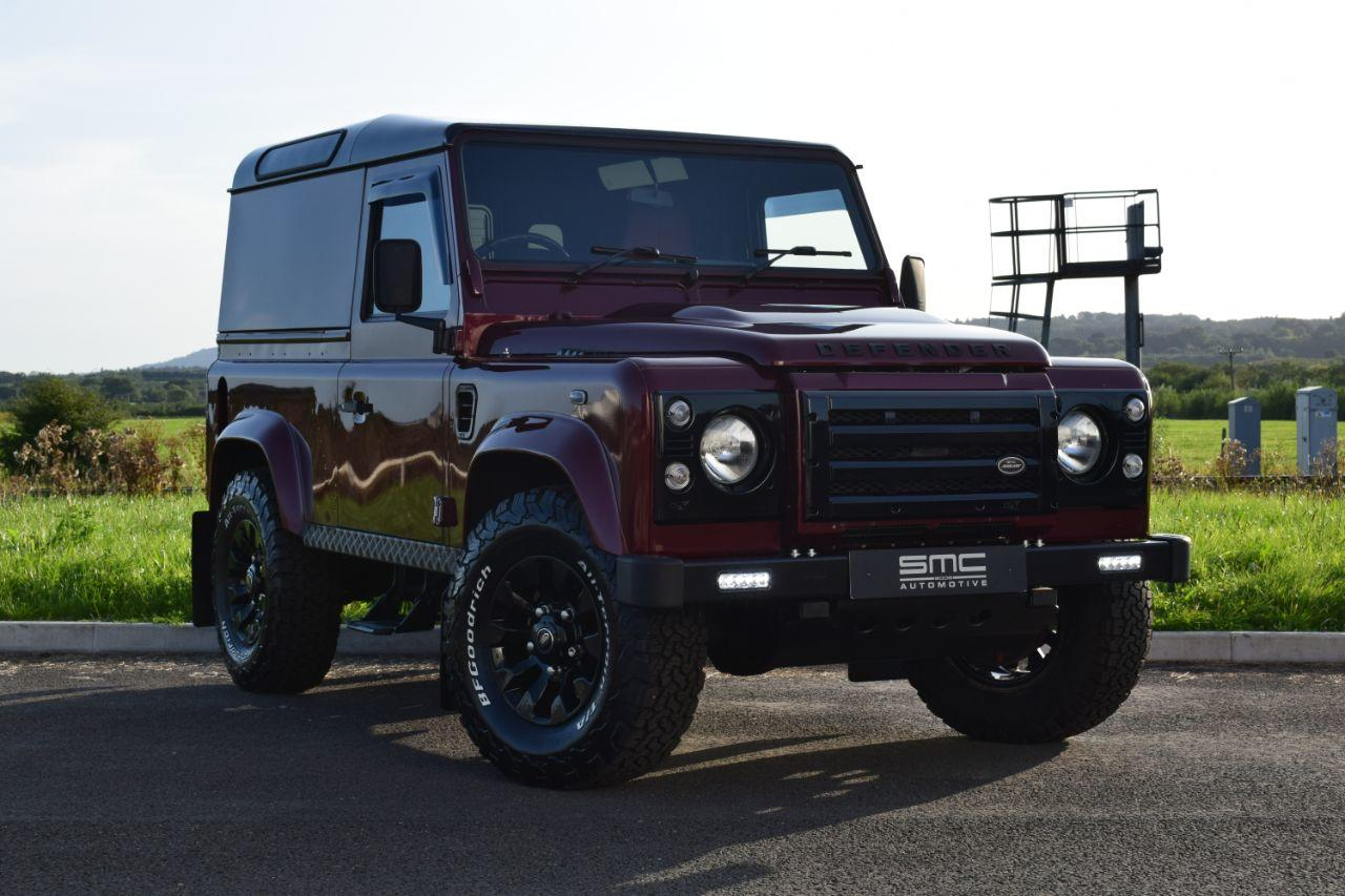 Land Rover Defender XS Hard Top TDCi [2.2] SUV Diesel Red