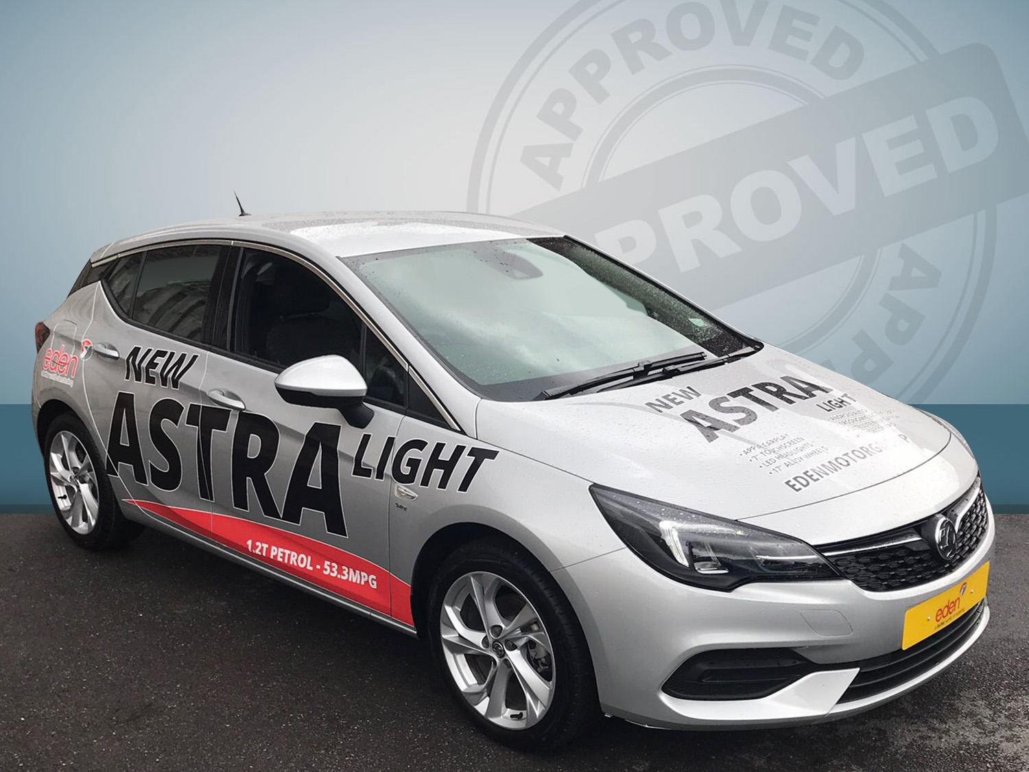 Vauxhall Astra 1.2t Sri 499/249 Petrol Sovereign Silver