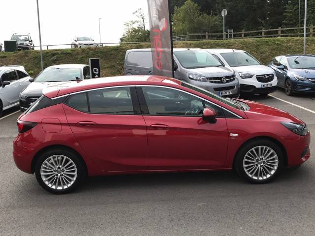 Vauxhall Astra 1.2t 145ps Elite Nav 5dr Petrol Peperoncion Red