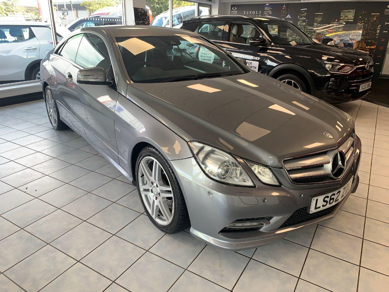 Mercedes-Benz E Class 2.1 E250 CDI BlueEFFICIENCY Sport 2dr Tip Auto Coupe Diesel SILVER