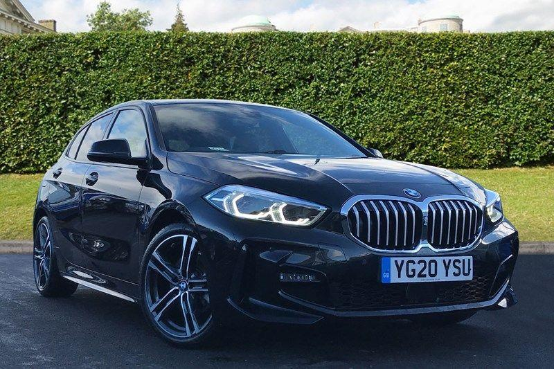 BMW 1 Series 1.5 118I M SPORT Hatchback Petrol Black