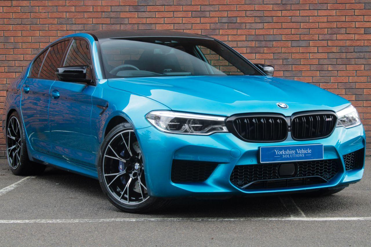 BMW M5 4.4 M5 4dr DCT [Competition Pack] Saloon Petrol Blue