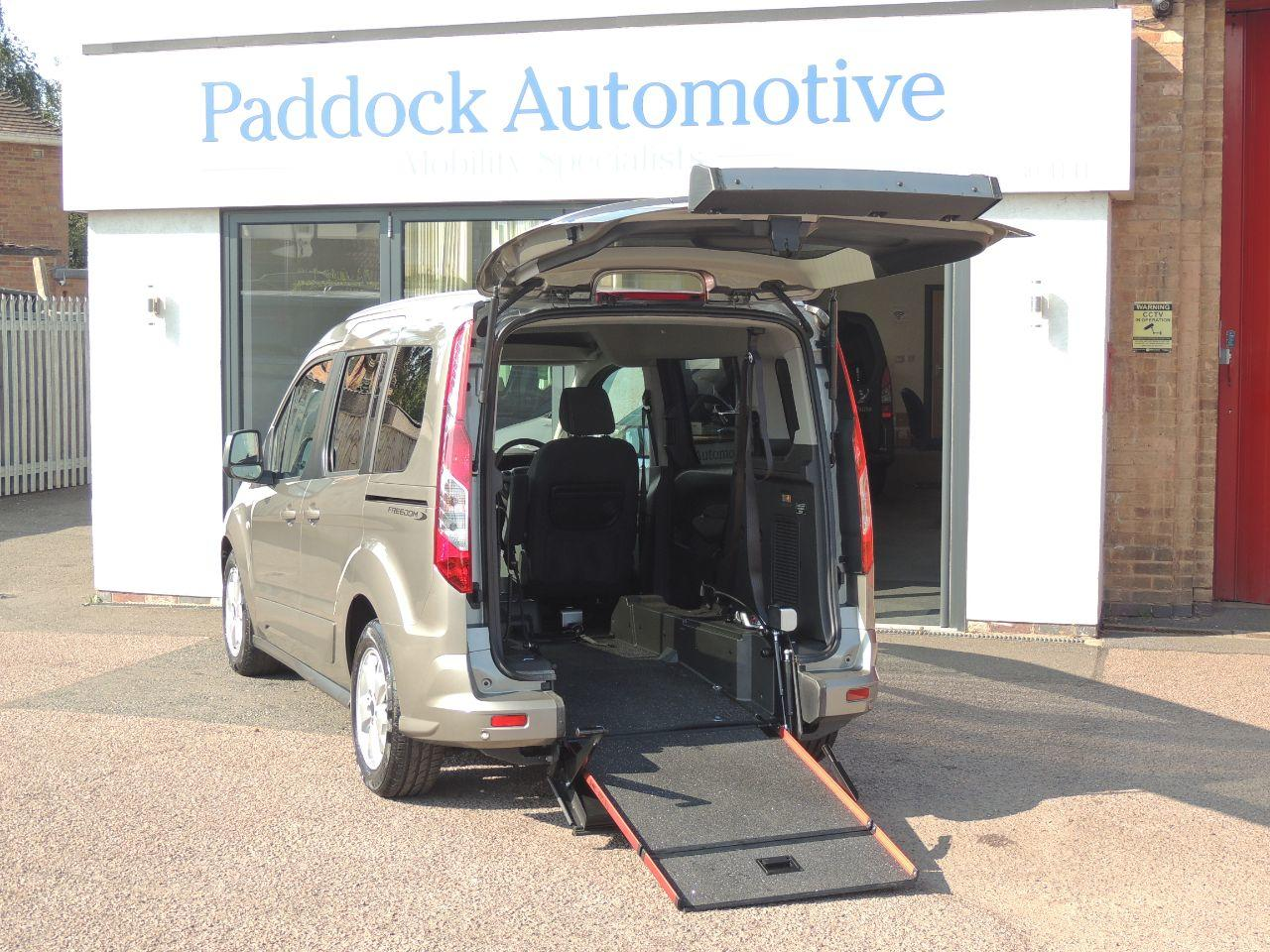 Ford Tourneo Connect 1.5 TDCi 120 Titanium 5dr Powershift Wheelchair Adapted Diesel Silver Mica