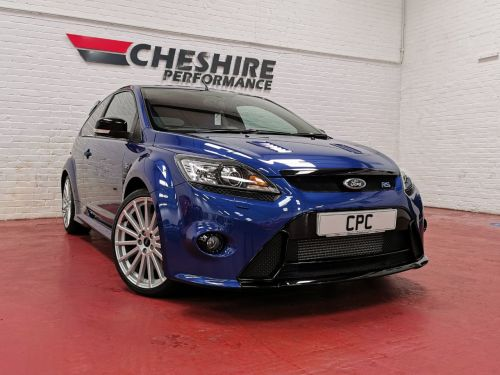 Ford Focus 2.5 RS 3dr 350 BHP UNIQUE INVESTMENT OPPURTUNITY Hatchback Petrol Blue