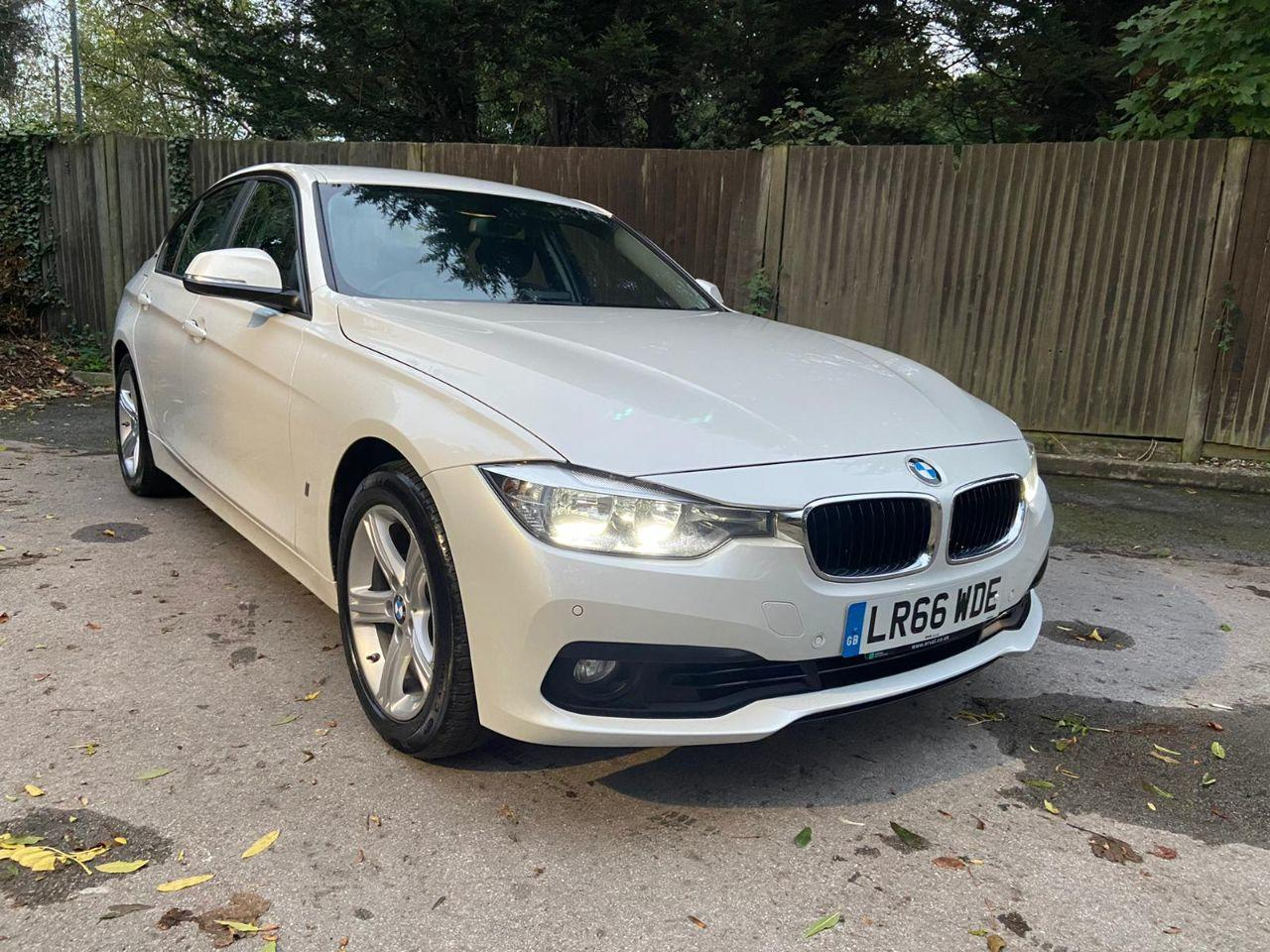 BMW 3 Series 2.0 330e SE 4dr Step Auto Saloon Petrol White