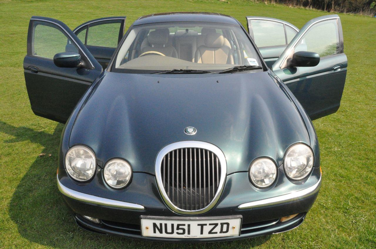Jaguar S-Type 3.0 SE V6 Saloon Petrol Green