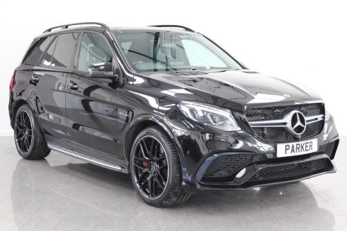 Mercedes-Benz GLE 5.5 GLE 63 S 4Matic Night Edition 5dr 7G-Tronic Estate Petrol Obsidian Black Metallic