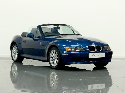 BMW Z3 1.9 Convertible Petrol Topaz Blue