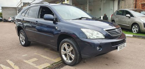 Lexus RX 3.3 RX400 H SE CVT Estate Petrol / Electric Hybrid Blue