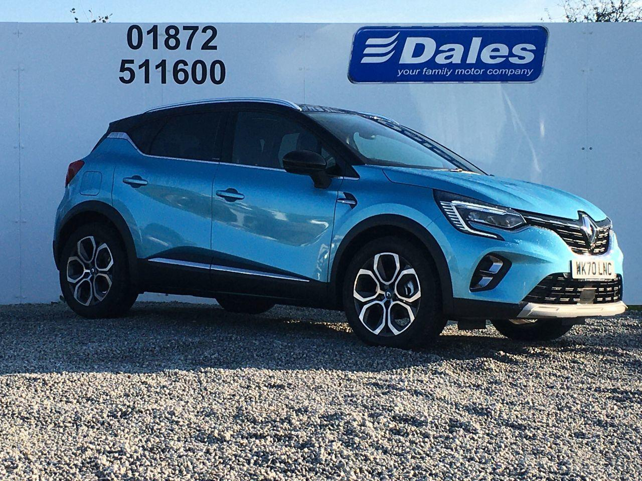 Renault Captur 1.6 E-TECH PHEV 160 S Edition 5dr Auto Hatchback Petrol / Electric Hybrid Blue/black