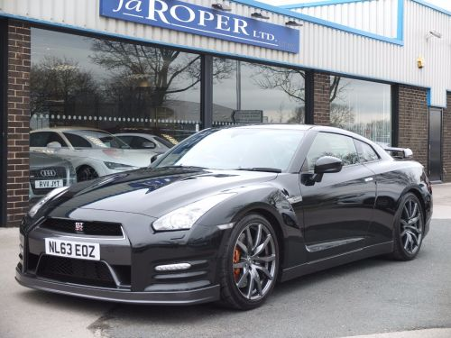 Nissan GT-R 3.8 [550] Black Edition Auto Coupe Petrol Black Pearl