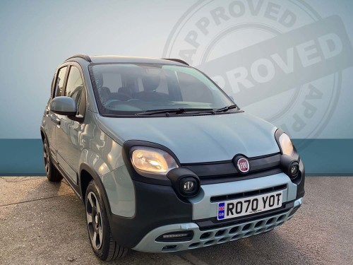 Fiat Panda 1.0 City Cross Hybrid 5dr Petrol Mica Welsh Green
