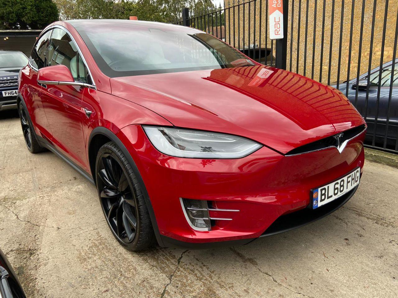 Tesla Model-x 0.0 245kW 75kWh Dual Motor 5dr Auto Hatchback Electric Red