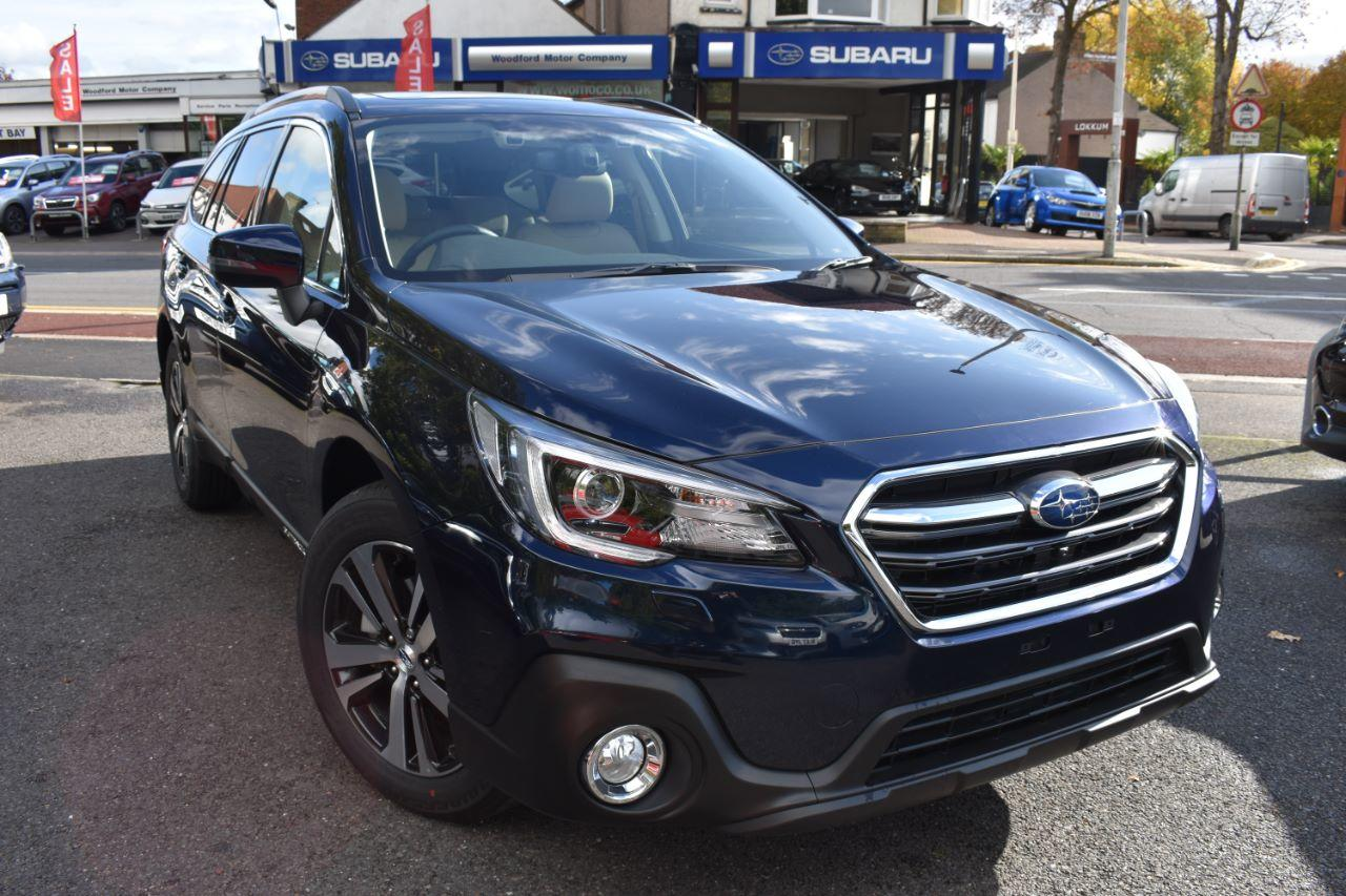 Subaru Outback 2.5 SE Premium Estate Petrol Dark Blue