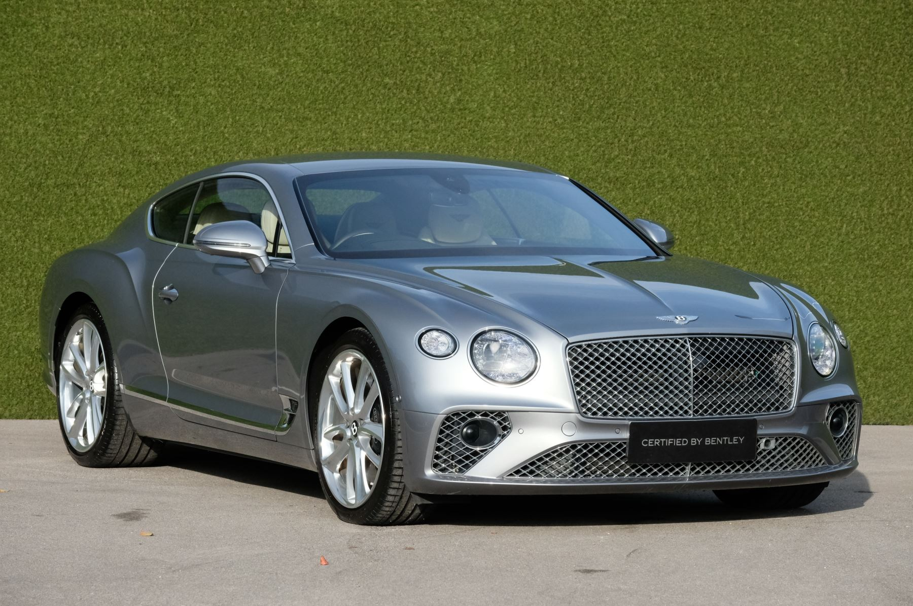Bentley Continental GT 0.0 6.0 W12 2dr Mulliner Driving Specification Coupe Petrol Hallmark Grey
