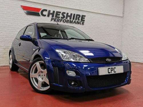 Ford Focus 2.0 RS 3dr INVESTMENT OPPURTUNITY Hatchback Petrol Blue