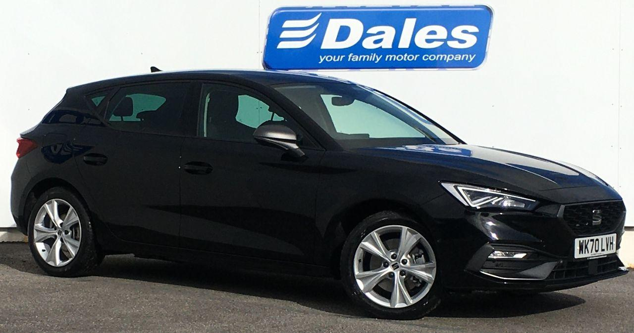 SEAT Leon 1.4 e-HYBRID DSG 204ps FR Hatchback Petrol / Electric Hybrid Midnight Black