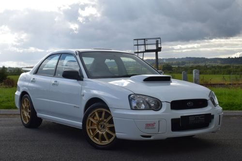 Subaru Impreza 2.0 Spec C Unregistered Delivery Mileage Saloon Petrol White