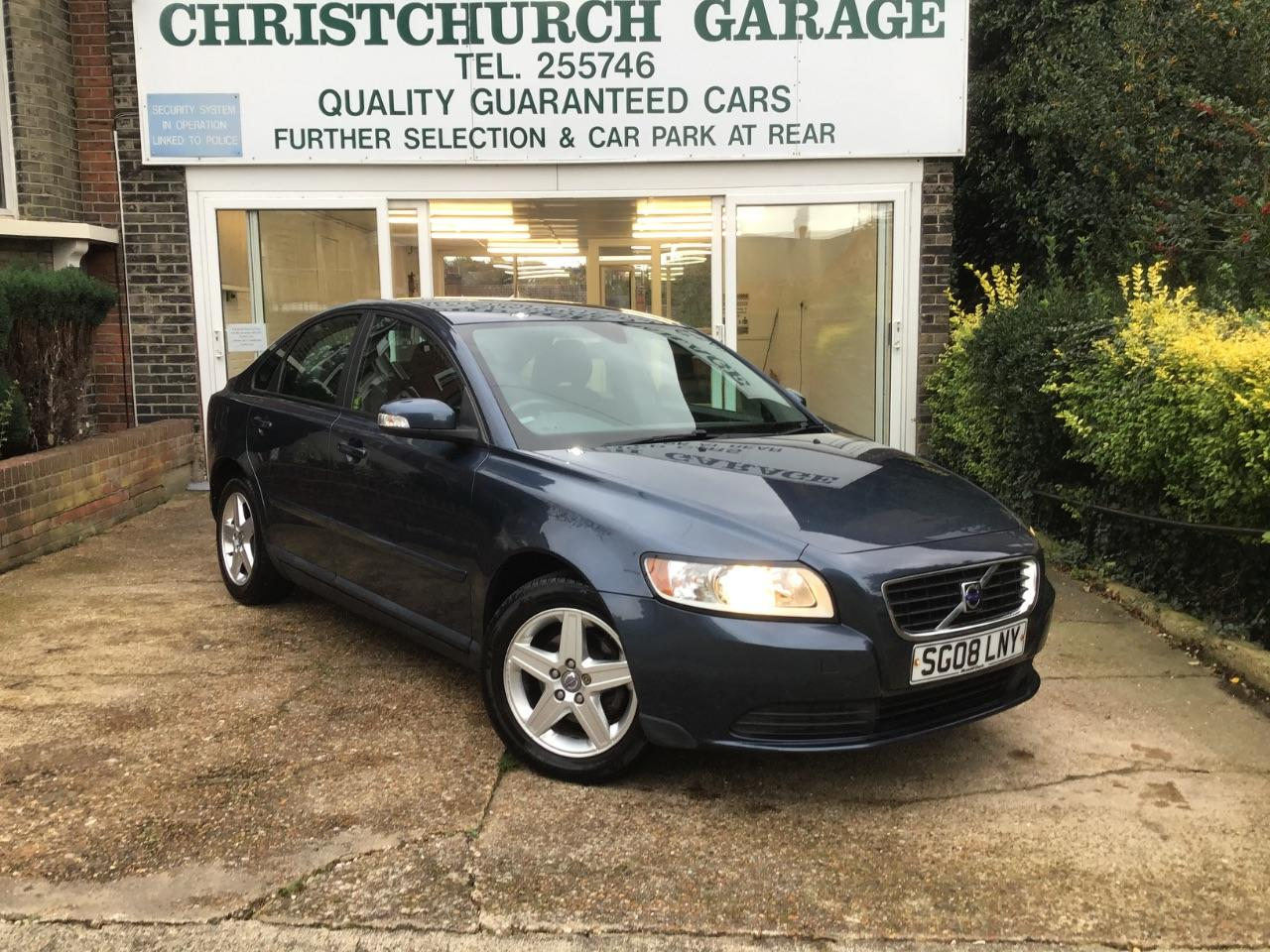 Volvo S40 1.6 S 4dr Saloon Petrol Blue