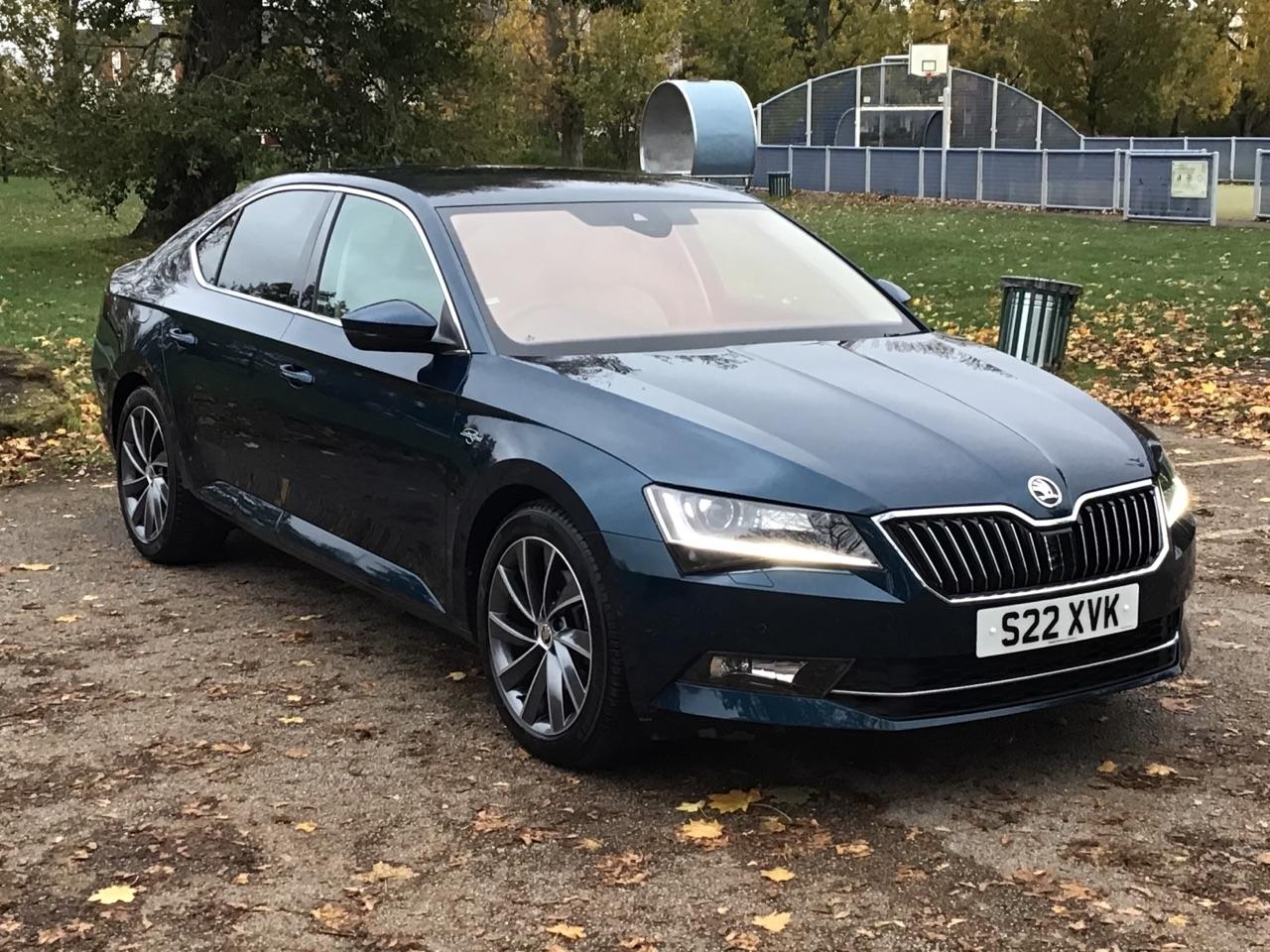Skoda Superb 2.0 TSI Laurin + Klement 5dr DSG Hatchback Petrol Blue