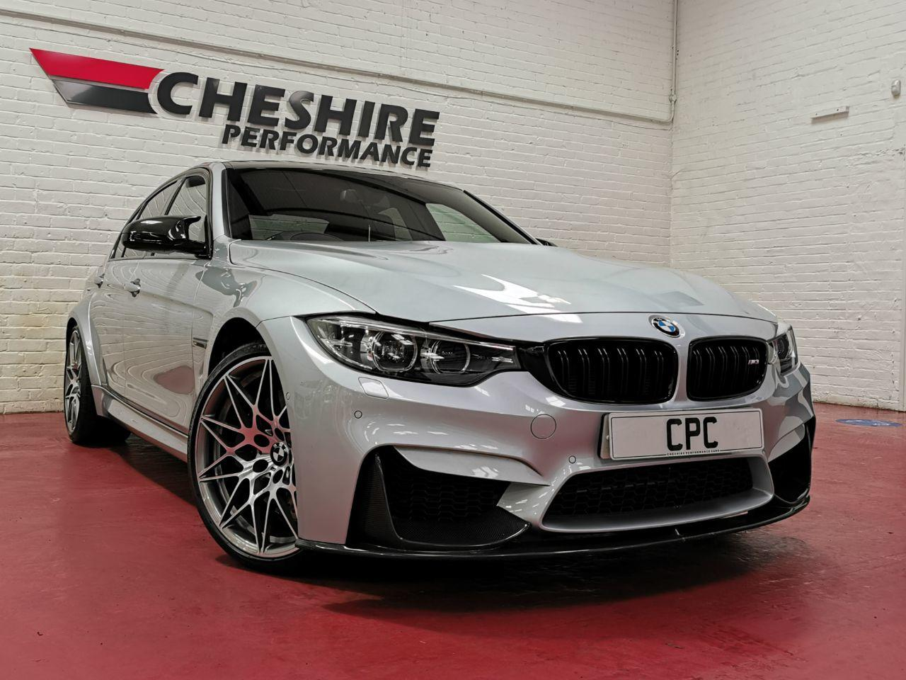 BMW M3 3.0 M3 4dr DCT [Competition+ Full Carbon Pack] Saloon Petrol Blue
