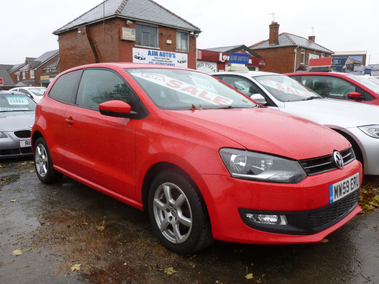 Volkswagen Polo 1.2 70 Moda 3dr [AC] Hatchback Petrol Red