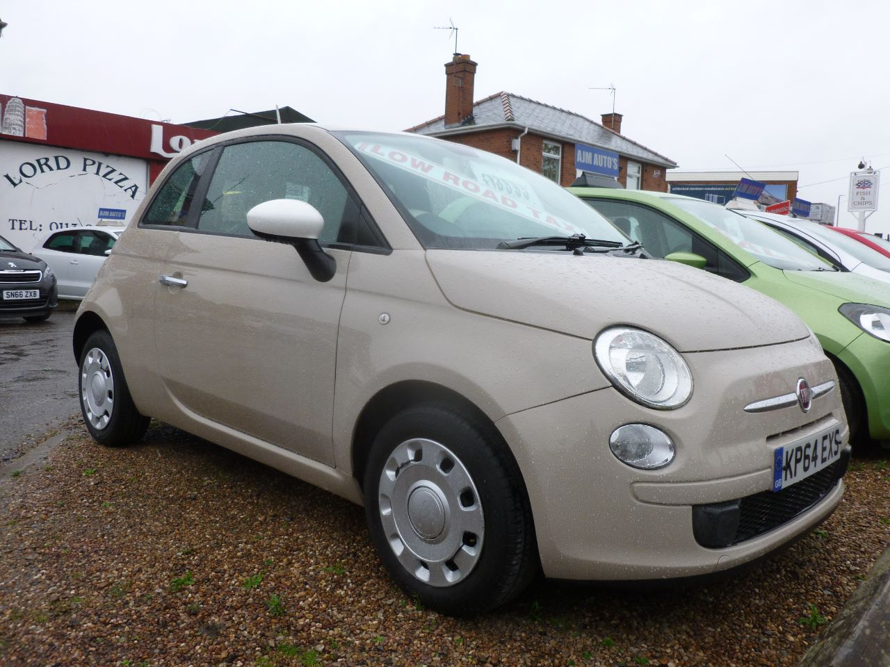 Fiat 500 1.2 Colour Therapy 3dr Hatchback Petrol Beige at AJM Autos Leeds Leeds