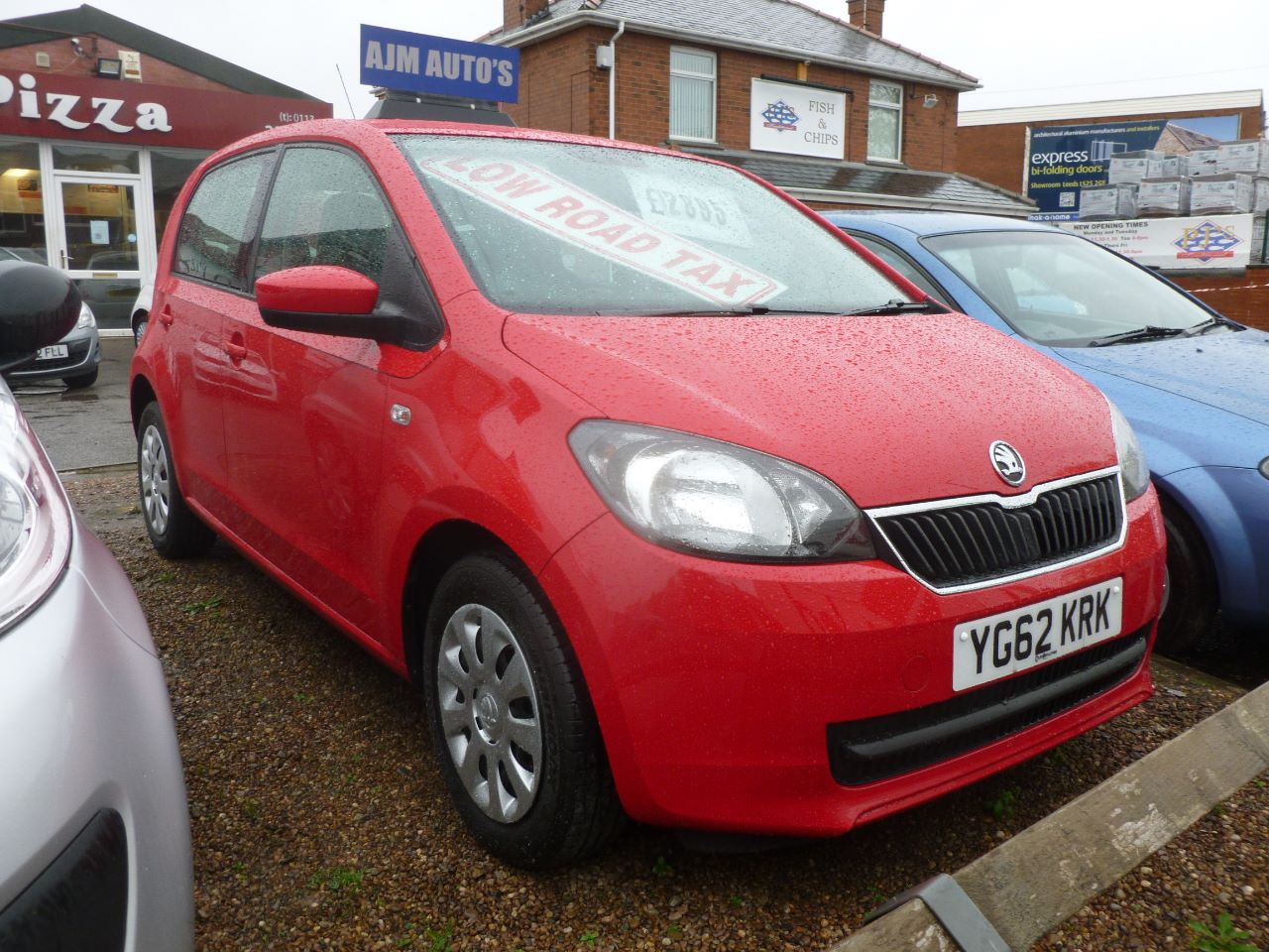 Skoda Citigo 1.0 MPI S 5dr Hatchback Petrol Red at AJM Autos Leeds Leeds