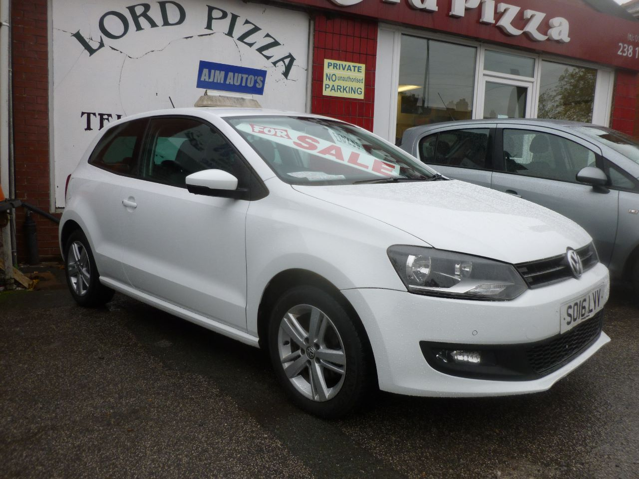 Volkswagen Polo 1.0 Match 3dr Hatchback Petrol White