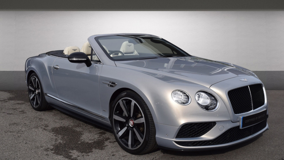 Bentley Continental GTC 0.0 4.0 V8 S Mulliner Driving Spec 2dr Convertible Petrol Extreme Silver
