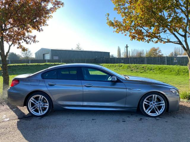 BMW 6 Series 3.0 640d M Sport 4dr Auto (20in Alloys! HUD! H/Kardon! ++) Coupe Diesel Space Grey Metallic