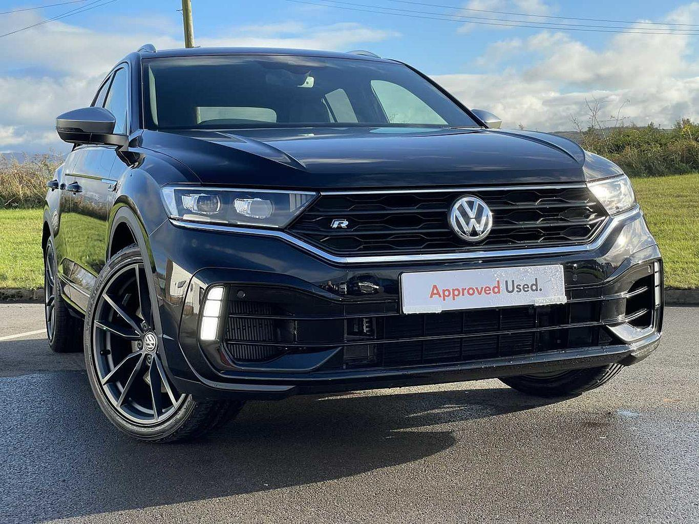 Volkswagen T-roc 2.0 TSI R 300PS 4Motion DSG Hatchback Petrol Deep black