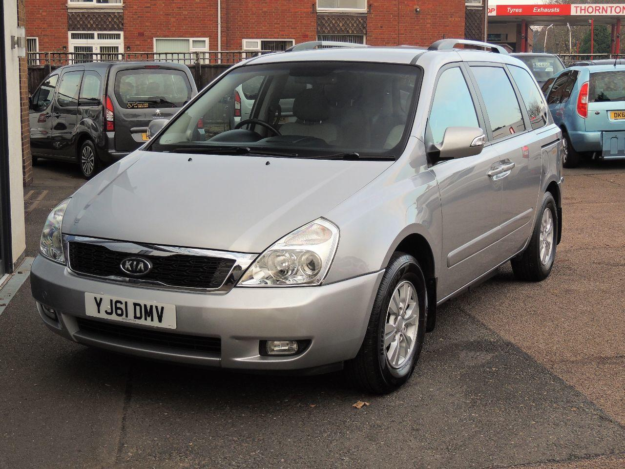 Kia Sedona 2.2 CRDi 2 Disabled Wheelchair Adapted Vehicle WAV Wheelchair Adapted Diesel Silver Mica