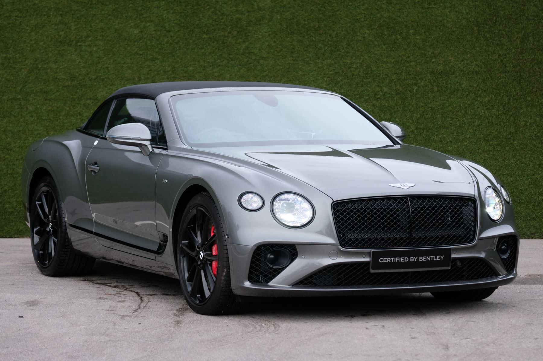 Bentley Continental GTC 0.0 4.0 V8 Mulliner Driving Spec Auto Convertible Petrol Granite