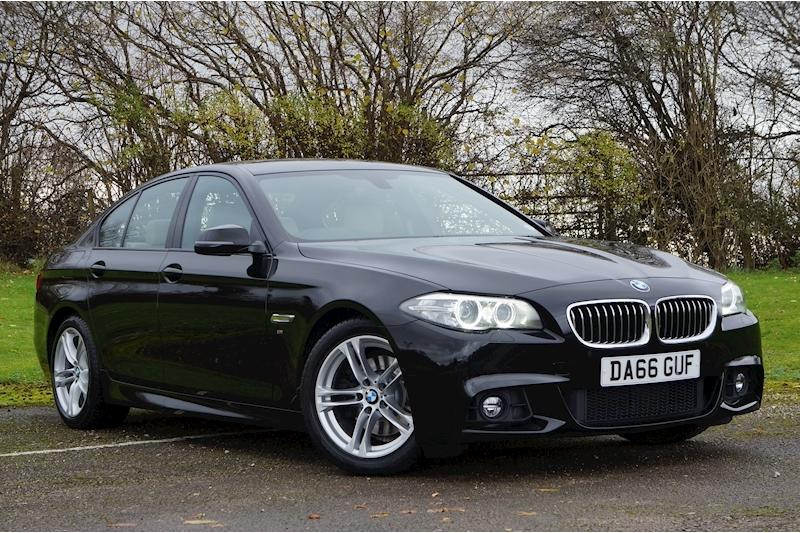 BMW 5 Series 2.0 M Sport Saloon Diesel Jet Black