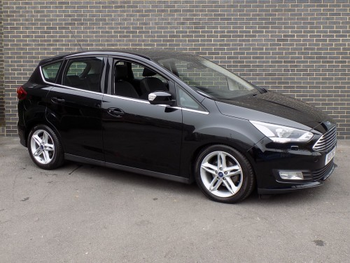 Ford C-MAX 1.0 TITANIUM X MPV Petrol Shadow Black