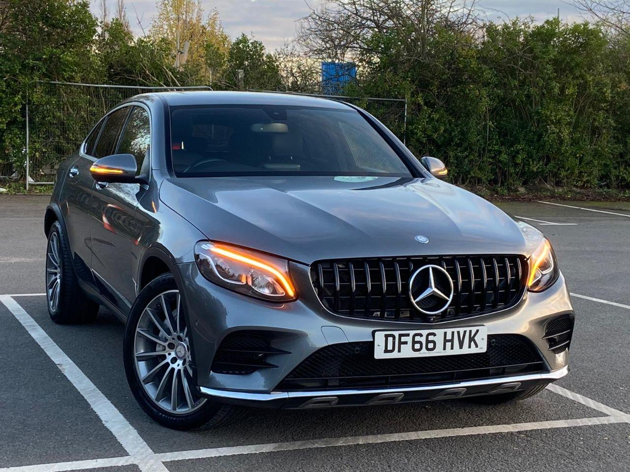 Mercedes-Benz GLC Coupe 2.1 GLC 220d 4Matic AMG Line Premium 5dr 9G-Tronic Coupe Diesel Grey
