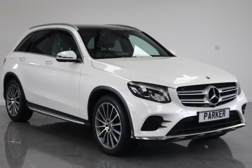 Mercedes-Benz GLC 3.0 GLC 350d 4Matic AMG Line Prem Plus 5dr 9G-Tronic Estate Diesel White