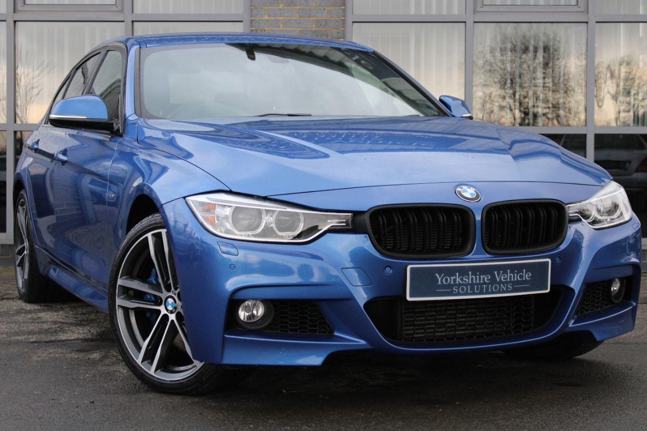 BMW 3 Series 3.0 335d xDrive M Sport 4dr Step Auto Saloon Diesel Blue