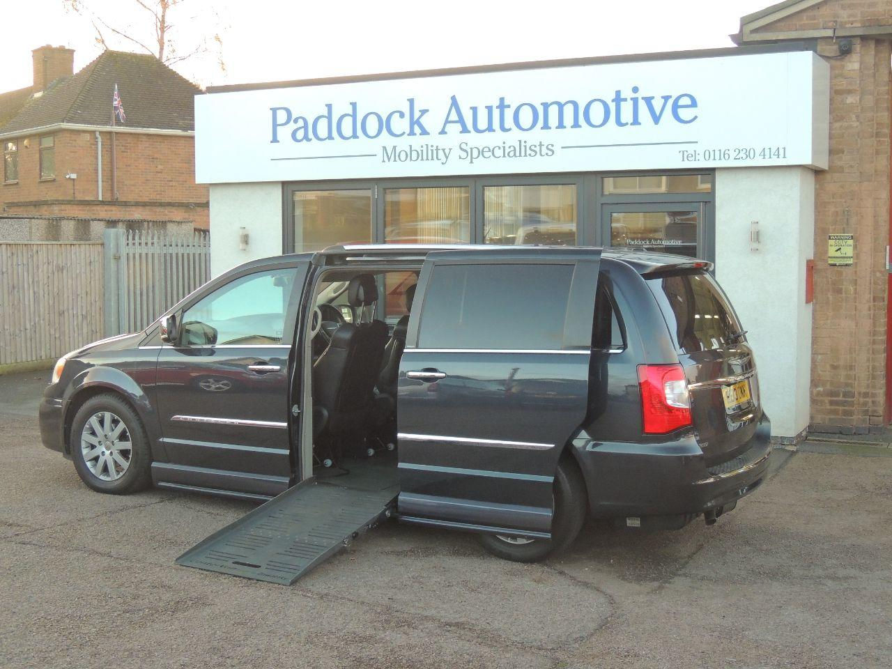 Chrysler Grand Voyager 2.8 [178] CRD Limited 5dr Auto Wheelchair Adapted Diesel Grey Mica