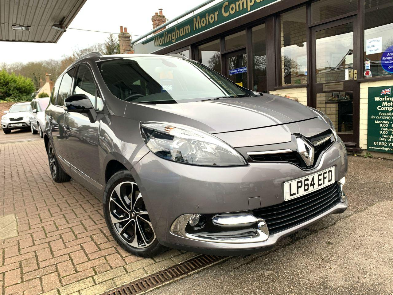 Renault Grand Scenic 1.6 dCi Dynamique TomTom 5dr Energy [Bose+ pack] MPV Diesel Grey