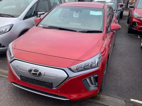Hyundai Ioniq 1.6 Electric Premium SE 38.3 kWh MY20 5 Door Hatchback Hybrid Fiery Red