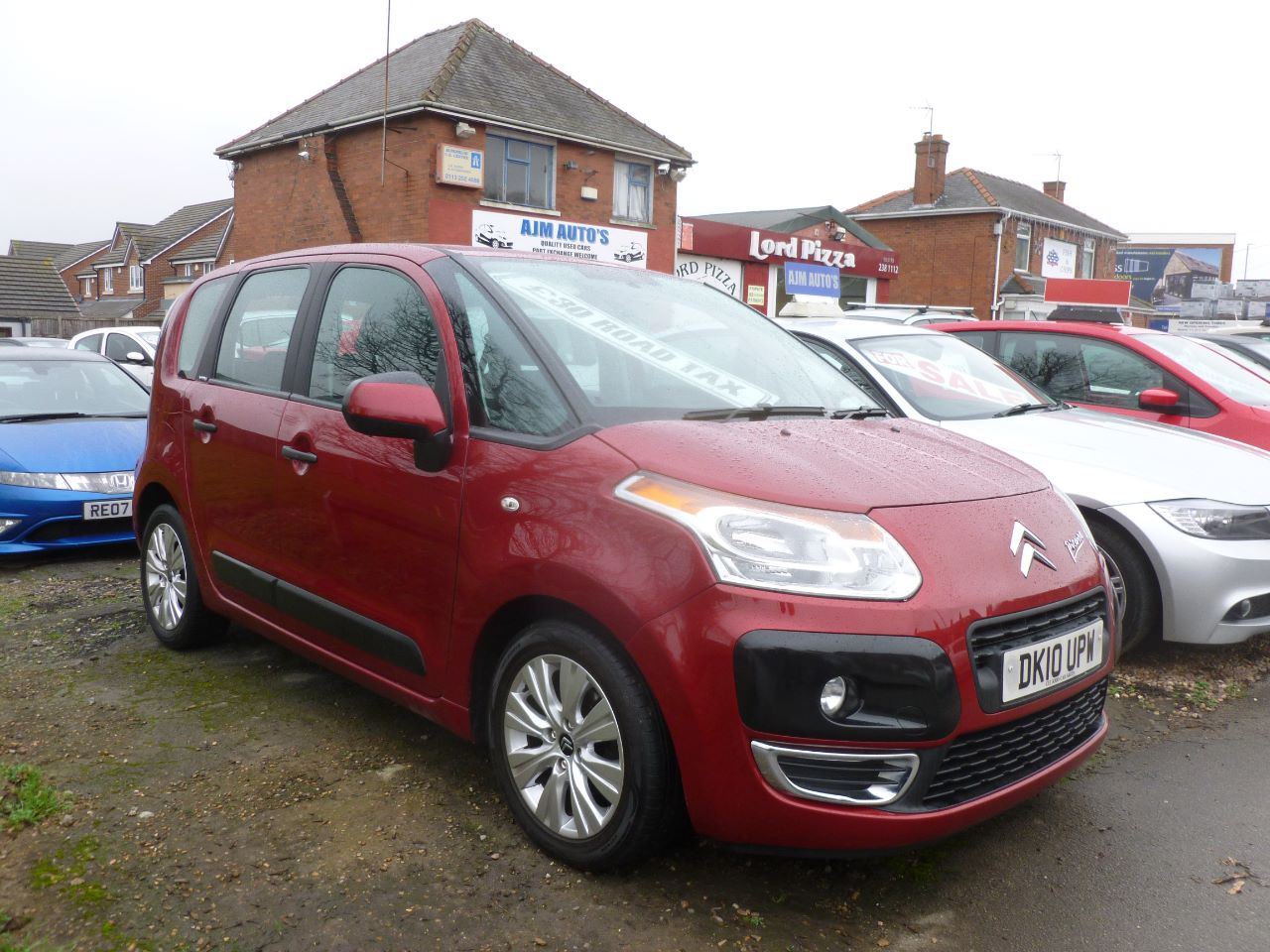 Citroen C3 Picasso 1.6 HDi 16V VTR+ 5dr MPV Diesel Red at AJM Autos Leeds Leeds
